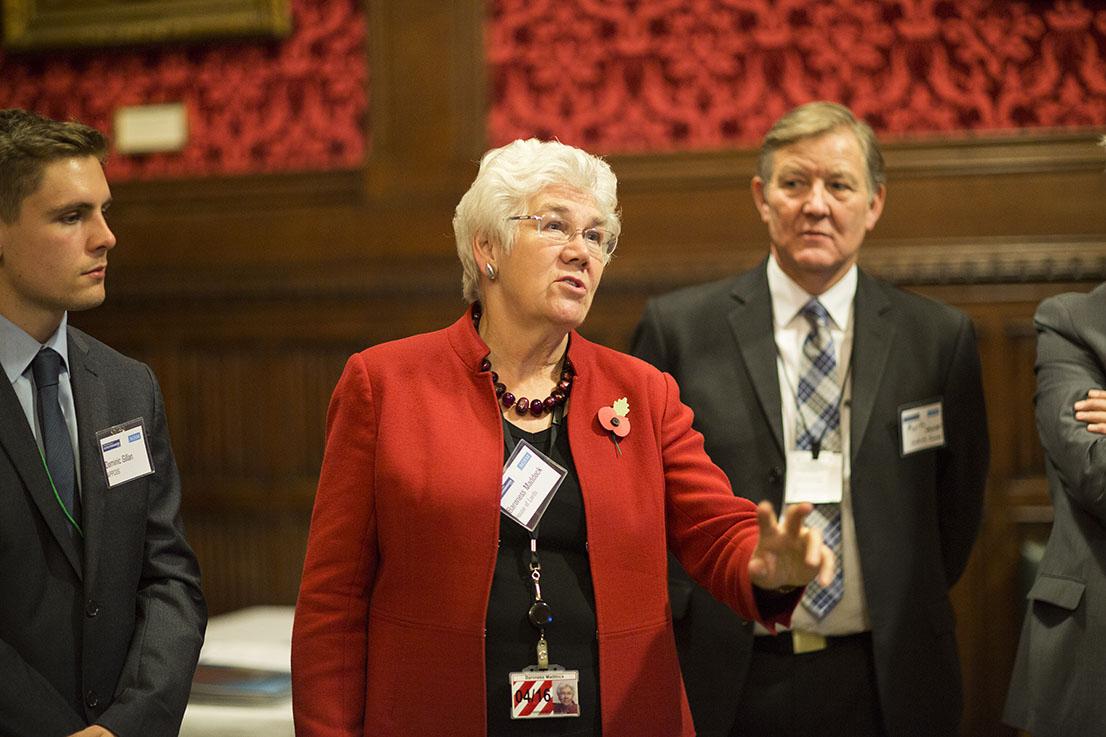 Baroness Maddock - Parliamentary Carbon Monoxide Group receptio