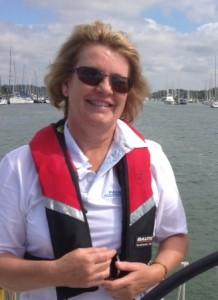 Sailing 2013 - Sue & Beth
